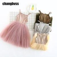 Fashion Princess Wedding Baby Girl Dress Tutu Dress For Girls Ballet Style Girls Dresses Children Clothes