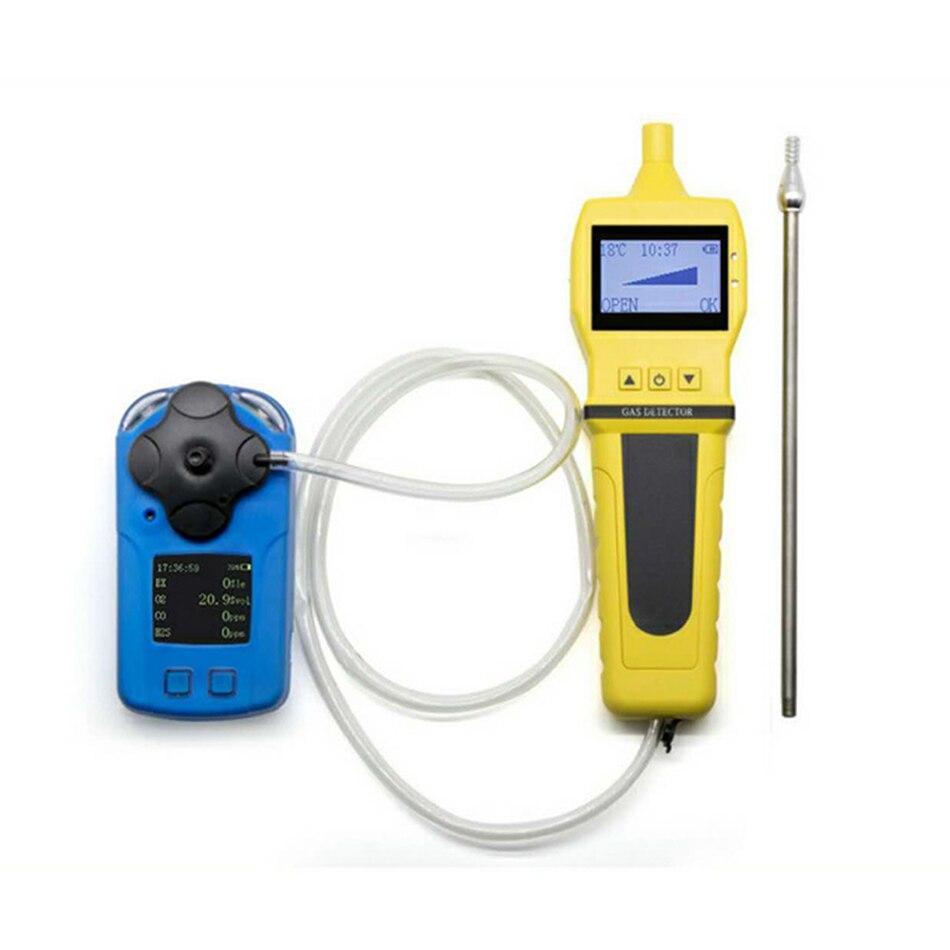 BH-01 Portable pompe d'échantillonnage de gaz échantillonneur détecteur affichage numérique charge externe grand écran haute puissance auto-amorçante