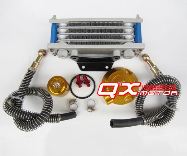 GZ/GSX/EN/GS babuíno motocicletas modificado radiador de óleo do radiador de óleo radiador de óleo CNC