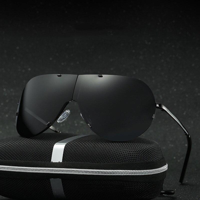 Foldable Polarized Sunglasses Men Black Cool 2018 Sport Sun Glasses High Quality Fishing Driving Eyewear Gafas Summer