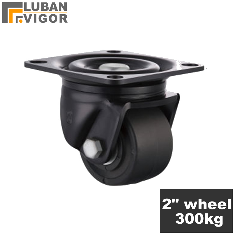 Super load-bearing 300KG,2 inch Low center Casters/wheels,FOR heavy carts, machine tools, large equipm,HOME/Industrial Hardware