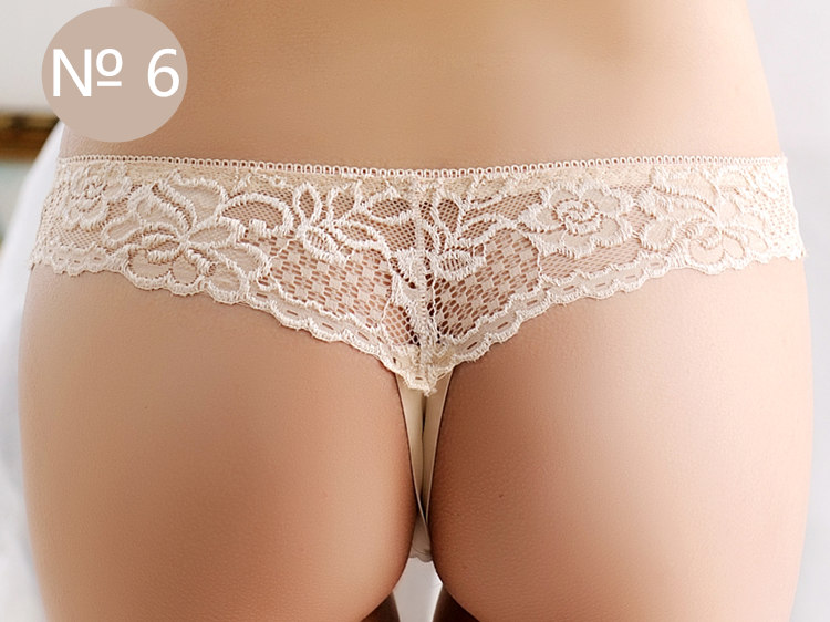 Seamless Underwear, Women's Panties, Thongs Panties, Female G String, Sexy Lace Underwear Lace Panties 9
