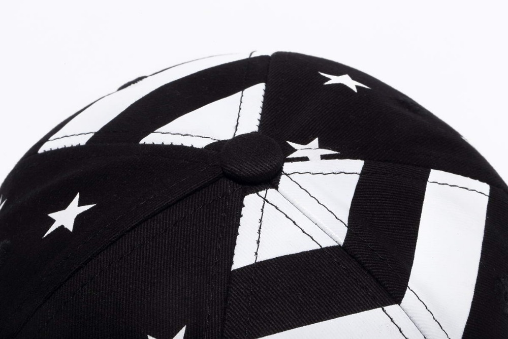 37fd9be2f83 New Hot 6 Panel American Flag Snapback Hat