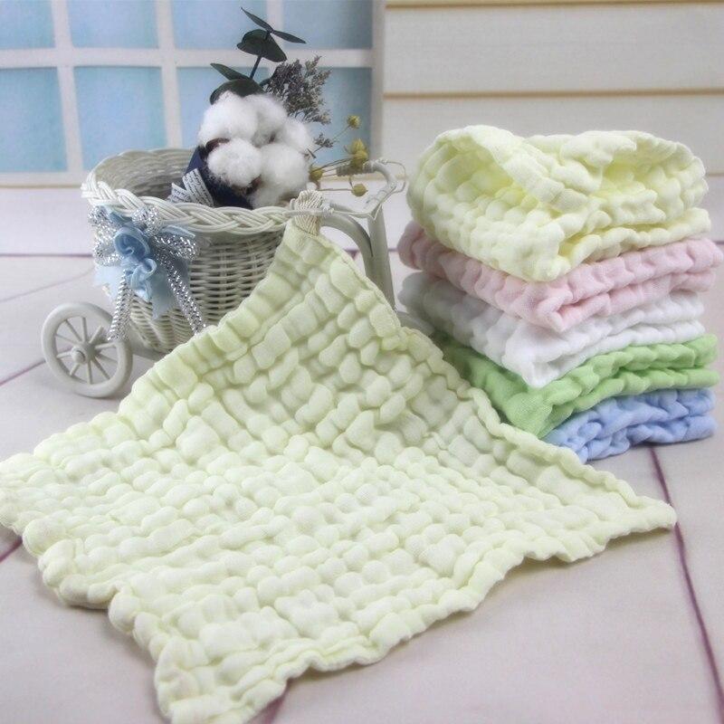 New Arrival Soft Cotton Baby Infant Newborn Handkerchief Towel Washcloth Feeding Wipe Cloth