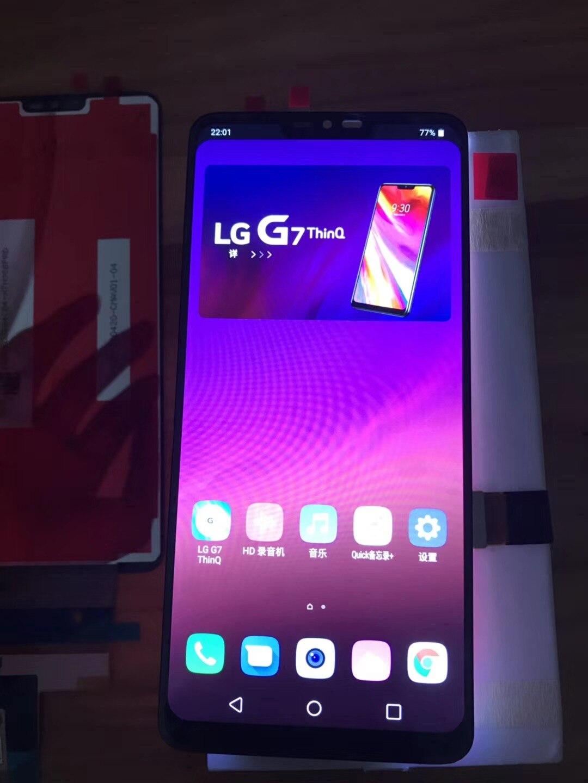 Для LG G7 оригинальные ThinQ ЖК-дисплей G710 G710EM G710PM G710VMP Экран дисплея в сборе Запчасти для авто для LG G7 ЖК-дисплей