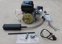 Fast Shipping 3kW Integral Fuel Tank Gasoline Engine 170F 7 5HP Electric Tricycle Four Wheel Car