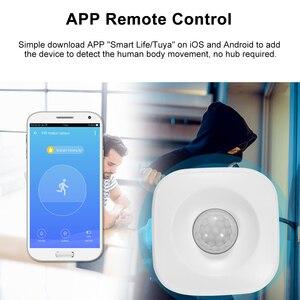 Image 5 - Tuya WIFI PIR Motion Sensor Wireless Passive Infrared Detector Security Burglar Alarm Sensor APP Control Support IFTTT