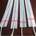 1m Silicon tube IP67 8mm/10mm/12mm for SMD 5050 3528 3014 5630 ws2801 ws2811 ws2812b waterproof led strip light