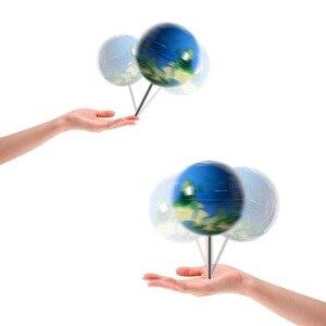 New antigravity globe earth no
