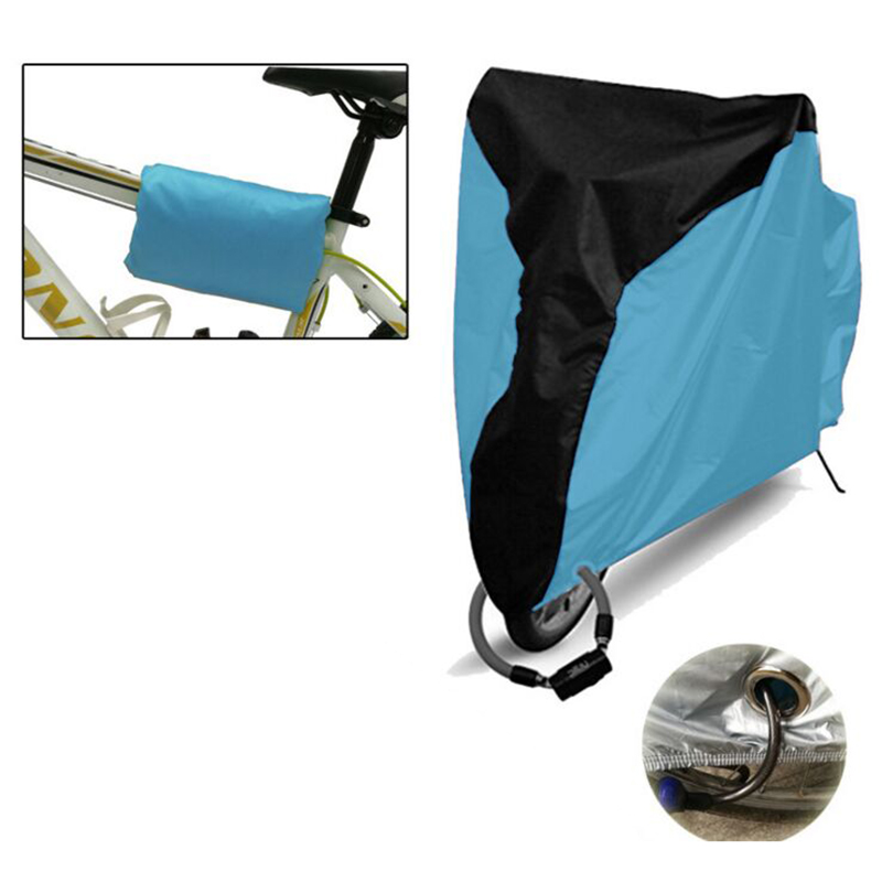 Cycling Bicycle Sunscreen Cover Waterproof Raincoat Raincover Electric Vehicle Bike Dust Cover Scooter Biker Bicycle Utility