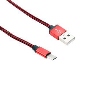 Image 5 - 3FT trenzado de aluminio USB Cable de datos para Android rojo nuevo Cable de alta calidad de moda rojo USB Android para dispositivos inteligentes