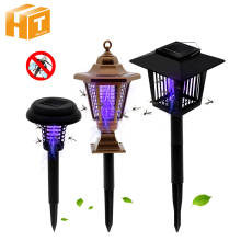 Solar LED Mosquito Killer Lamp Outdoor Garden Waterproof IP65 Light Lawn Lamp.