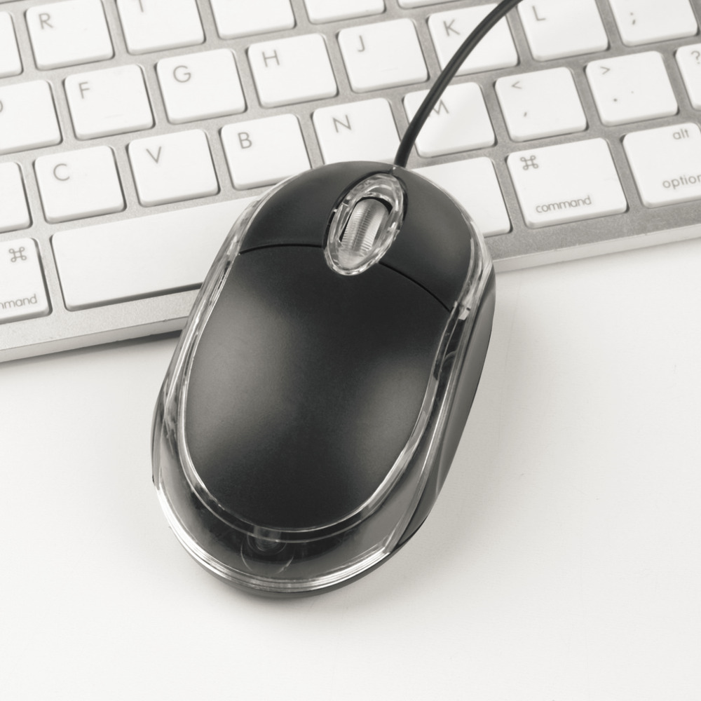 In Stock High Quality 12m Tiny Usb Optical Scroll Whell Mouse Mice Keyboard Dell For Asus Hot Sale Free Shipping Drop From Computer Office On