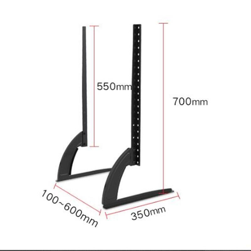 Image 3 - Mount 32 65 Height Adjustable Universal TV Stand Base Plasma LCD  Flat Screen Table Top Pedestal Desktop TV Mount Easy InstallTV Mount