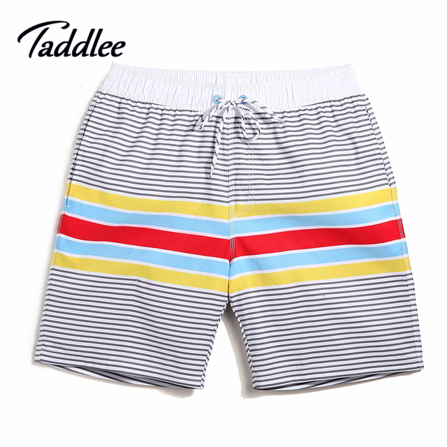 Taddlee Brand Men Swimsuits Beach Swimwear Boardshorts Mens Quick Drying Bermudas  Boxers Trunks Man Jogger Bottoms Plus Size