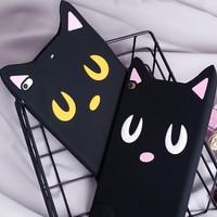 Case For IPad Mini4 Cartoon Cute Silicone Soft Back Cover Case For Apple IPad Mini 4