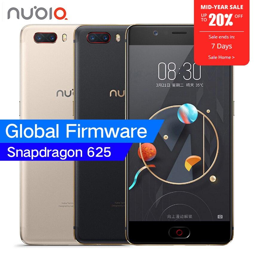 Originale ZTE Nubia M2 4G LTE Snapdragon 625 Octa Core 5.5