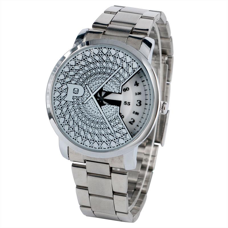 все цены на  Unique PAIDU Turntable White Dial Quartz Modern Wrist Watch Mens Special Design Trendy Stainless Steel Band Fashion Watches Gift  в интернете