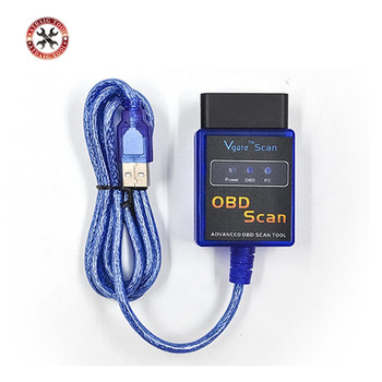 2020 Vgate Scan USB ELM327 OBD2 OBD 2 OBD Scan interfejs USB kabel samochodowy ECU narzędzie diagnostyczne skaner kod samochodu czytniki i urządzenia do skanowania