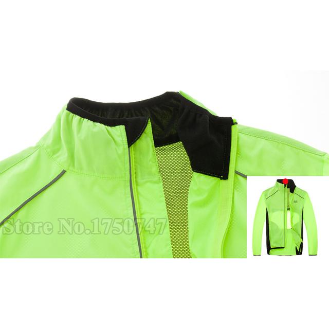 Siilenyond Tour de France Cycling Jackets Riding Breathable Reflective Bicycle Clothing Long Sleeve Bike Windbreak Rain Coat