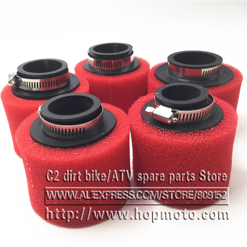 35mm 38mm 42mm 45mm 48mm 58mm Straight Foam Air Filter Sponge Cleaner Moped Scooter CG125 150cc Dirt Pit Bike Motorcycle RED 38mm 42mm 48mm 58mm straight foam air filter sponge cleaner 50cc moped scooter cg125 150cc dirt bike motorcycle
