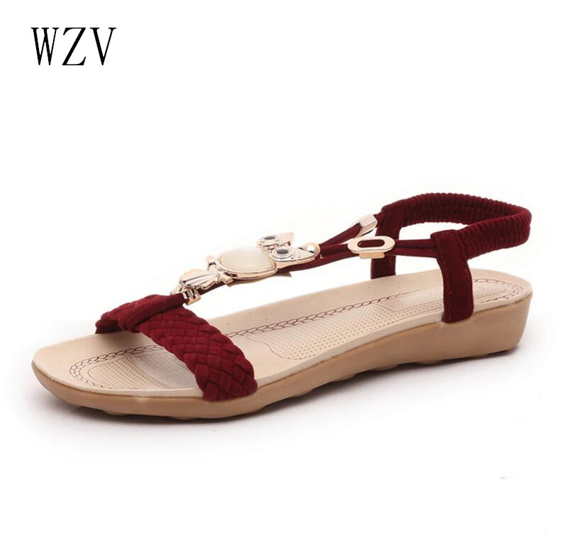 Women Shoes Sandals Comfort Sandals Summer Flip Flops 2017 ...