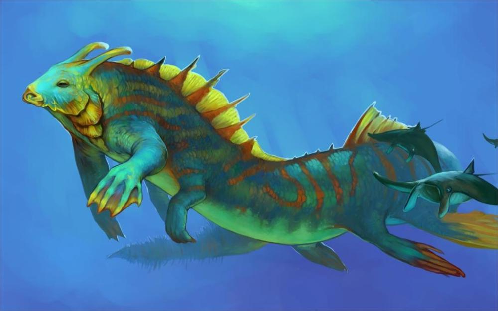 Fish Monster Fantasy Art