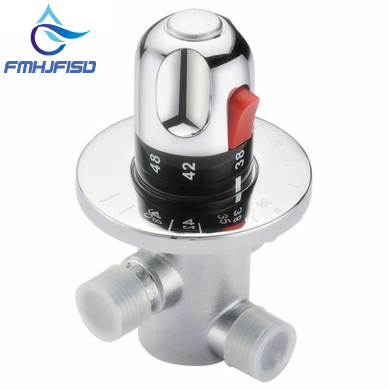 Chrome Brass Faucet Cartridge Valve Thermostatic Faucet Control Valve Thermostatic Mixer Valve фонокорректоры audio valve sunilda silver chrome