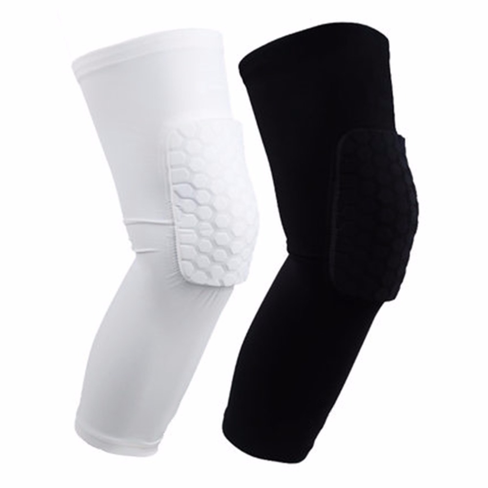 Ultralight Elastic Breathable Knee Pads for Football Basketball Volleyball Leg Long Sleeve Protector Sports Safety Calf Kneepad