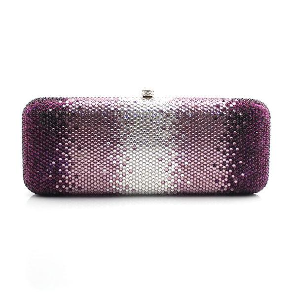цена на Graceful women handmade diamond crystal rhinestone evening clutch bag