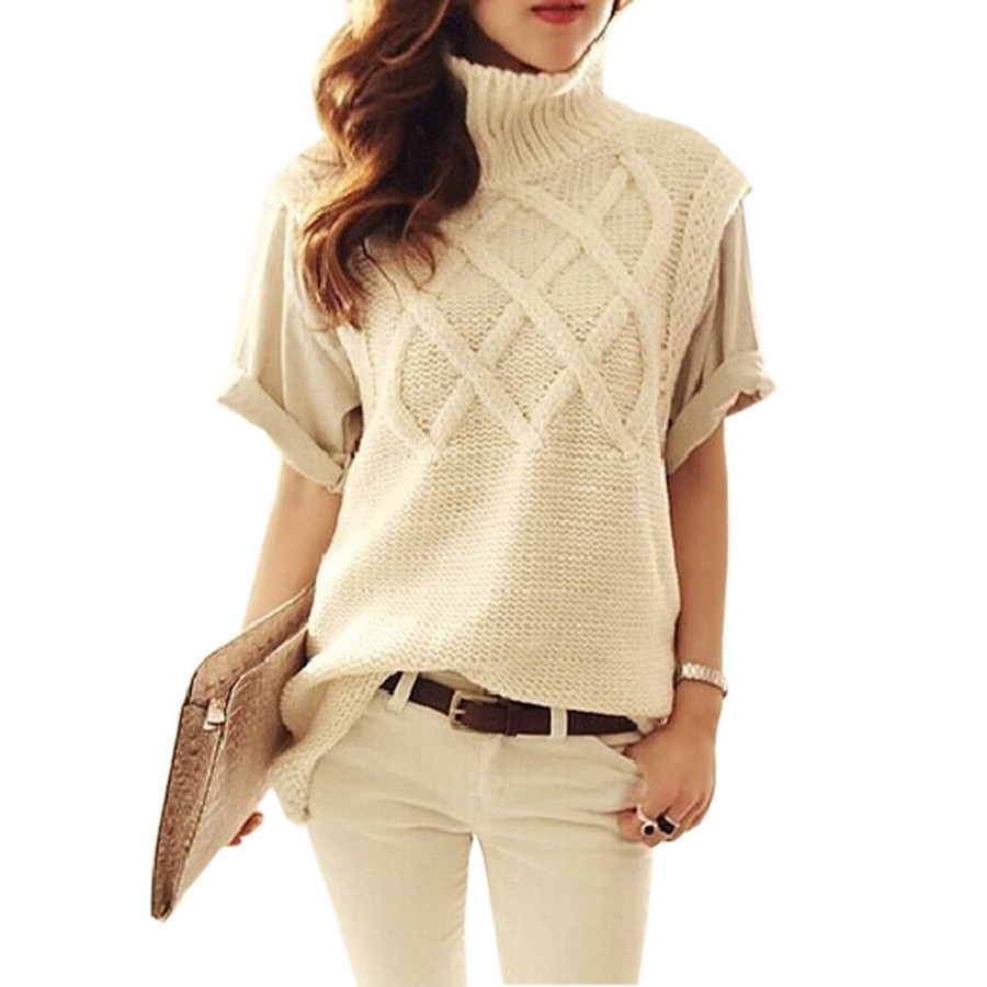 2017 New Women's Turtleneck Knitted Sweater Spring Fashion ...