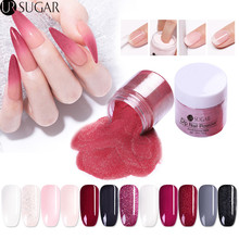 UR SUGAR 30ml Dipping Nail Powder Gradient Dip Glitter Pigment Natural Dry Without Lamp Cure French Base Coat Laser