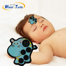4Pcs/Lot Baby Safety Care Portable Digital Body LCD Thermometer Cartoon kids Infant Forehead Sticker Fever For Children