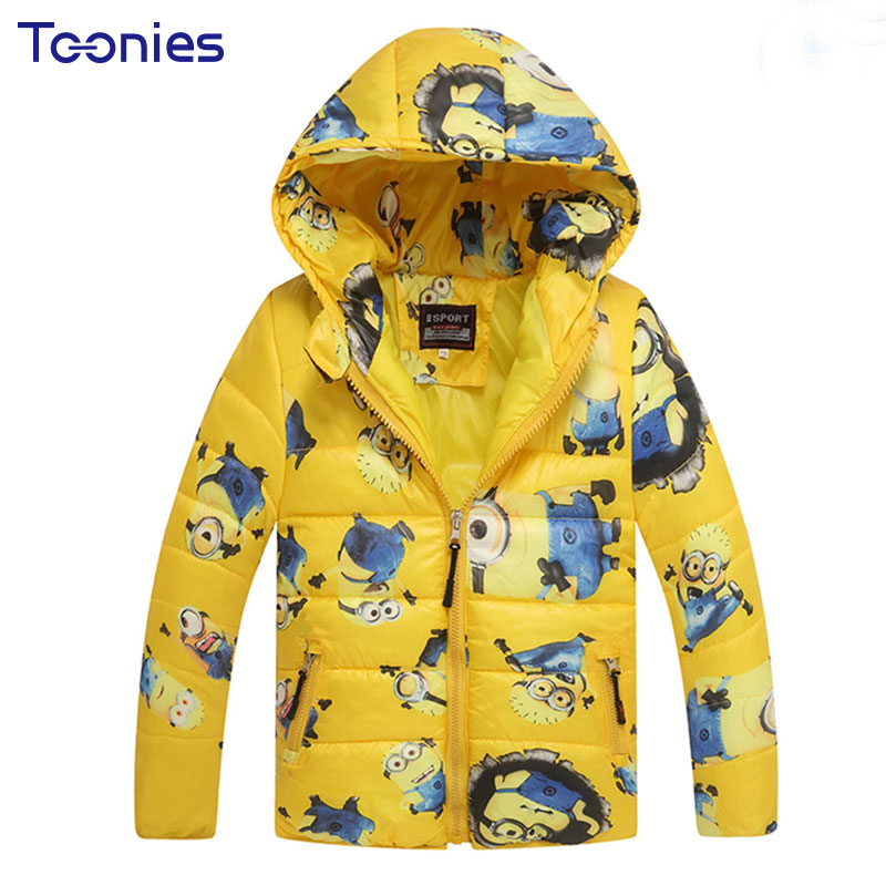Hot Sale Autumn Winter Children Boys Jackets Hooded Kids Baby Jacket Boy's Clothing Keep Warm Outerwear Baby Down Coats 4 Color children winter coats jacket baby boys warm outerwear thickening outdoors kids snow proof coat parkas cotton padded clothes