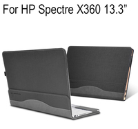 New Creative Design Case For HP Spectre X360 13.3 Inch Notebook Laptop Sleeve Cover PU Leather Protective skin Stylus As Gift