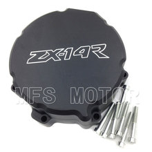 Motorcycle Left side Engine Stator cover For Kawasaki ZX 14R ZX14R ZZR1400 2006 2007 2008 2009 2010 2011 2012 2013 BLACK motorcycle part left side engine stator cover for suzuki gsx r gsxr600 600 750 2006 2007 2008 2009 2010 2011 2012 2013 chrome