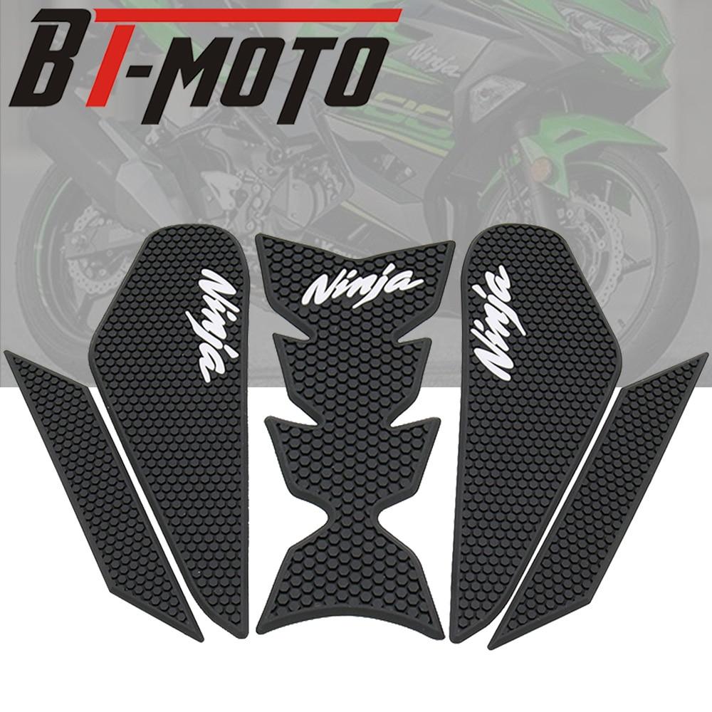 Motorcycle Fuel Tank Traction Side Pad Knee Grip Decal Protective Stickers For Kawasaki Ninja 400 Ninja400 2018 2019