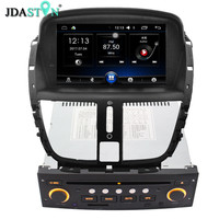 JDASTON 1 DIN 7 Inch Android 6 0 Car DVD Player For Peugeot 207 2007 2014
