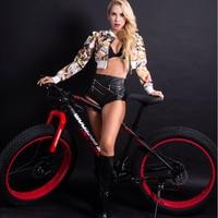 חופש אהבה 7/21/24/27 מהירות אופני בלמי דיסק שומן 26 Inch למעלה איכות אופניים חינם אופני הרים 4.0 צמיגים רחבים משלוח