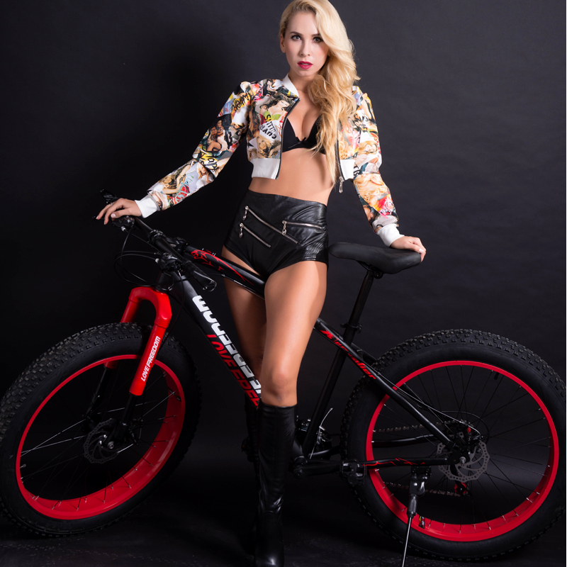 Love Freedom 7/21 / 24 /27 Speed Disc brakes Fat bike 26 Inch Top Quality Bicycle 4.0 Wide Tires Mountain Bike Free Delivery you ma 26 inch 21 24 27 speed aluminum alloy frame mountain bike double disc brakes student bicicleta bicycle free shipping