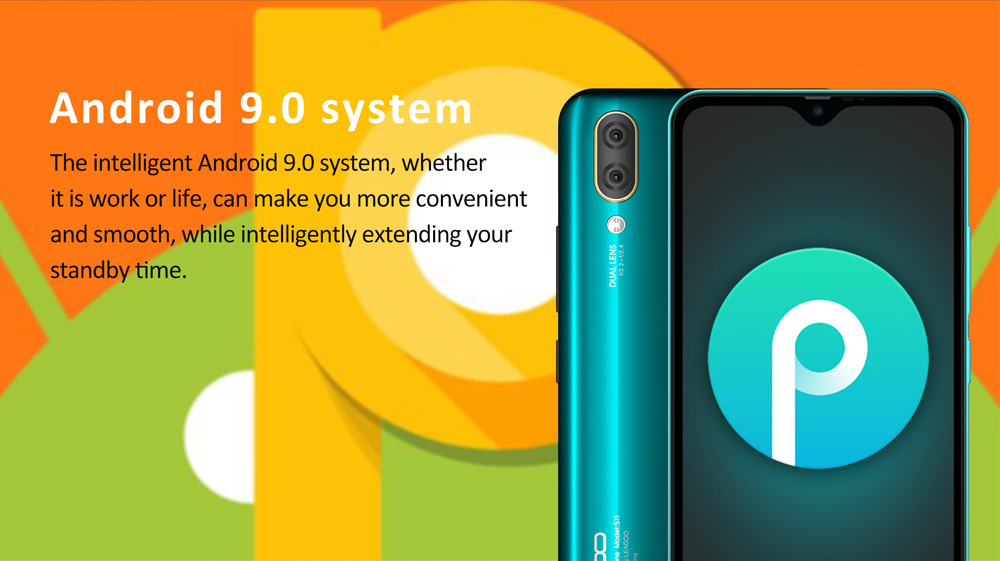 "HTB1K2PKXFT7gK0jSZFpq6yTkpXae LEAGOO S11 4GB 64GB Mobile Phone Android 9.0 6.3"" Waterdrop Display Helio P22 Octa Core 13MP Dual Camera Fingerprint Smartphone"