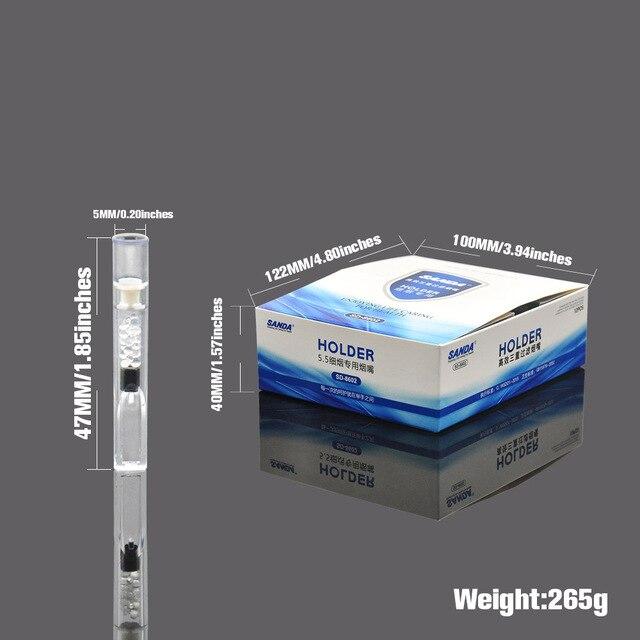 HORNET Disposable Plastic Cigarette Filter Tips 5 MM Food Grade Plastic Cigarette Holder Mouthpiece Filtration Cleaning holder 1