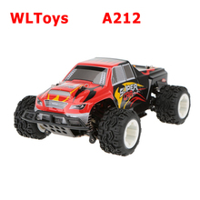 WLtoys A212 1/24 2.4G Electric Brushed 4WD RTR RC Monster Truck RTR