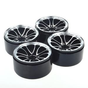 Image 3 - 4PCS 1/10 Scale RC Car Crawler 1.9 Inch Heavy Duty Beadlock Alloy Spoke Wheel Rim for 1:10 Axial SCX10 Tamiya D90