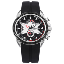Luxury men's watch sports fashion watches top brand multifunctional quartz watch men Clock Waterproof 100m CASIMA# 8207