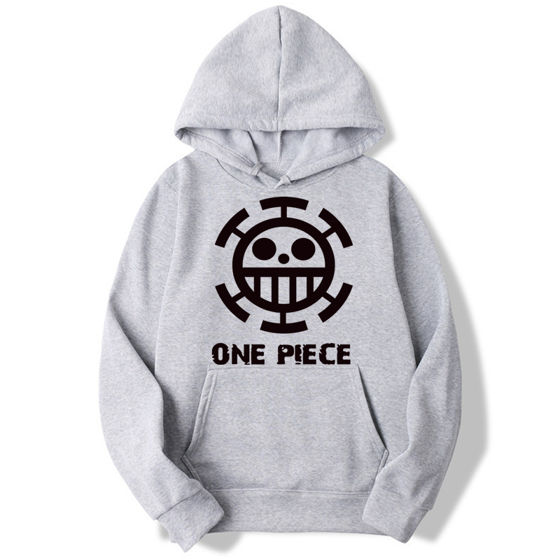 Trafalgar Law One Piece Pirates Funny Hoodies Men And Women Autumn Casual Pullover Sweats Hoodie Fashion Sweatshirts MWT048