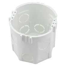 1 pc Eu Standard Wall Round Mounting Box Internal Cassette Wiring Box White Back Box For Eu Switch And Socket