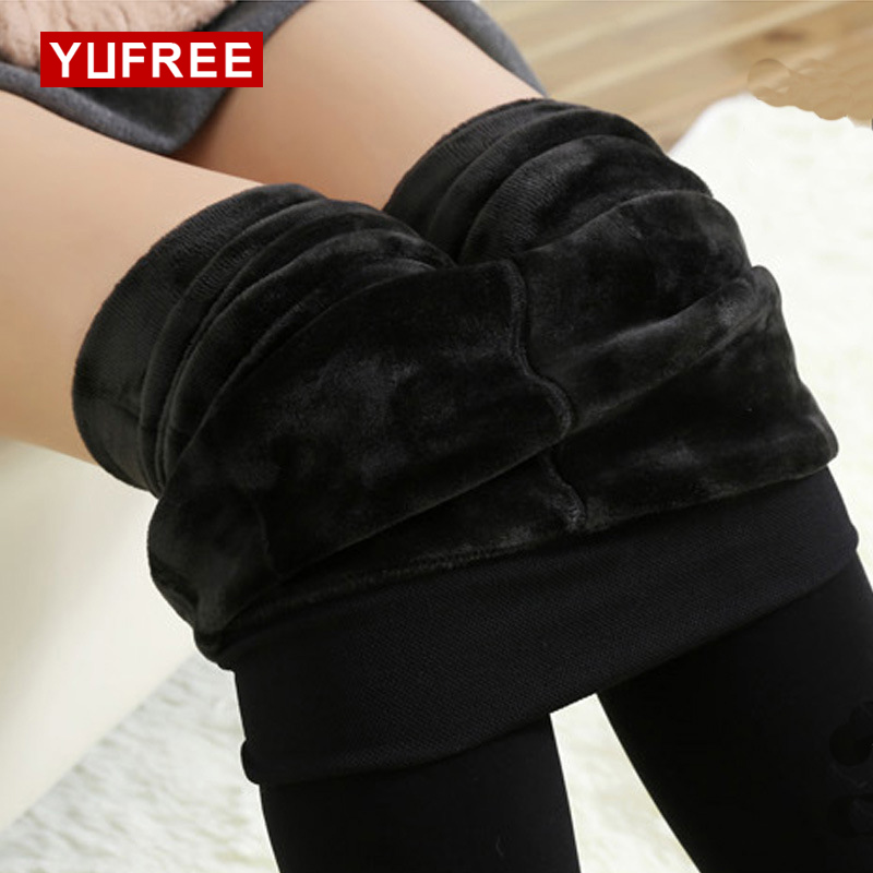 Buy New Women Warm Pantyhose Solid Color Elasticity High Waist Stockings Female Sexy Plus Cashmere Keep Pantyhose