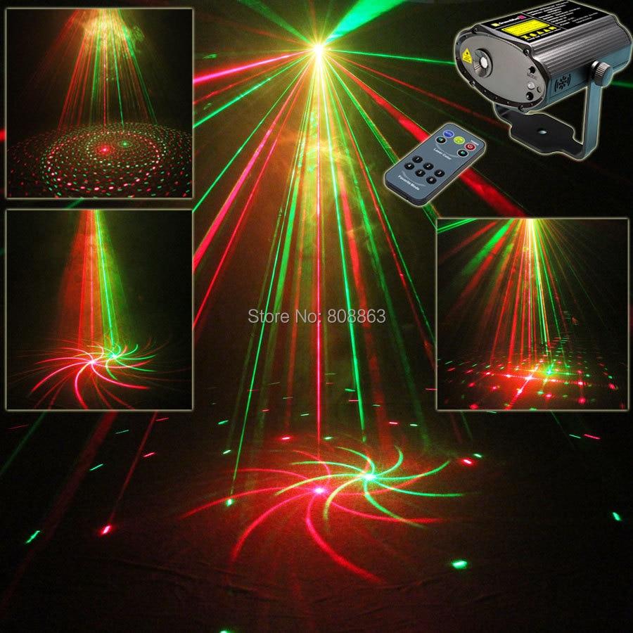 Mini R&G Laser Big 8 Patterns Projector Dance Disco Bar Family Party Xmas Stage Lights DJ environment lighting Light Show T20 стоимость