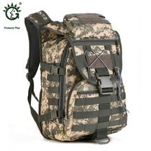Protector Plus 40L Bolsas Para Deportes Al Aire Libre Molle Táctico Militar Mochila de Excursión Que Acampa Táctico Bolsa Mochilas Sporttas